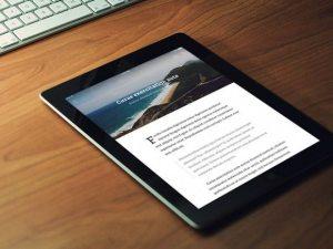 Creative RSS Reader app ‰ÛÒ PSD