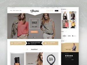 Creative Shophia ‰ÛÒ Ecommerce template