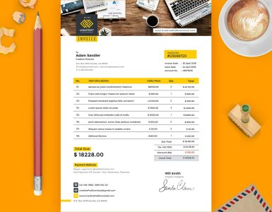 cmyk design,creative psd,download psd,free psd,invoice psd template free download,invoice template,print design,psd mockup