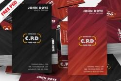 Bulk Business Card Psd Mockup