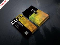 Creative Agency Business Card Freebie PSD Free Download