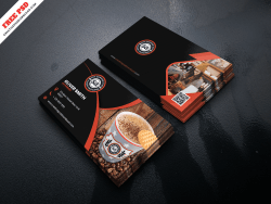 Creative Coffee Company Business Card PSD