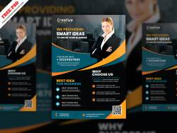Corporate Flyer Free PSD Free Download