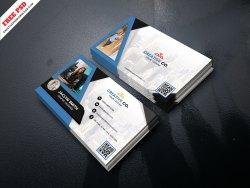 Corporate Business Card Freebie PSD