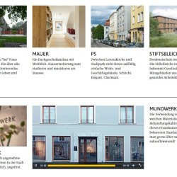 Architektur Projekte Referenzen mit WordPress