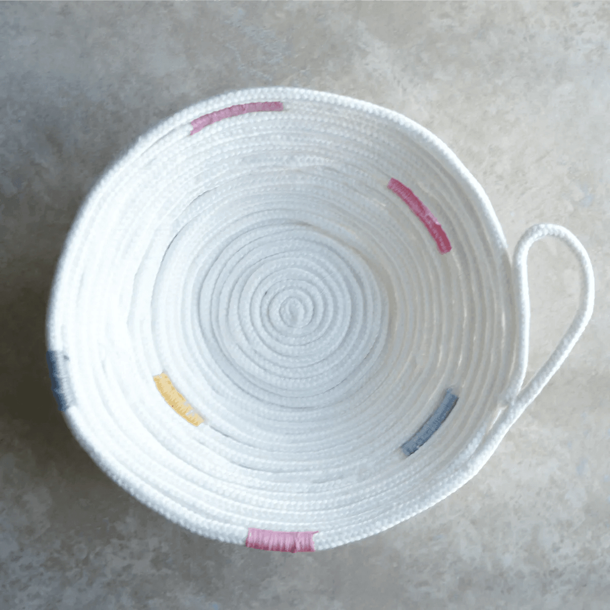 No Sew Rope Bowl Creative Ramblings