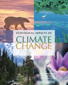 Ecological Impacts of Climate Change Booklet Cover