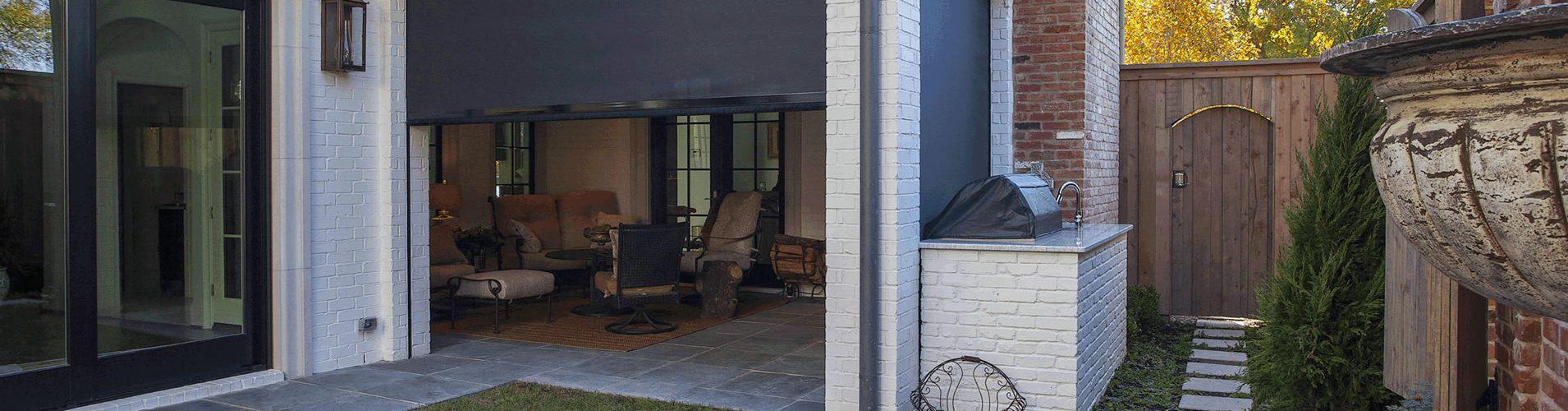 dallas motorized patio screens porch