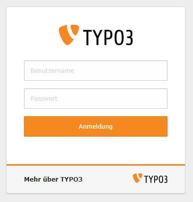 Backend Typo3 Agentur Thüringen