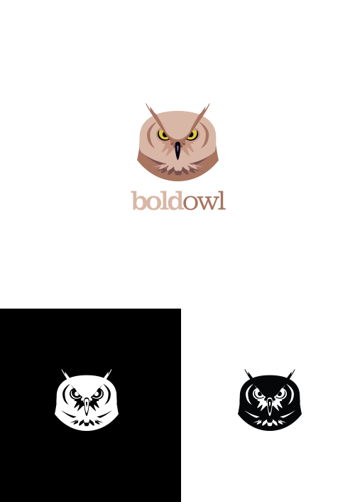 aa83f1e1e291a8ffebec9a2429651123 35 Owl Logo designs For Your Inspiration