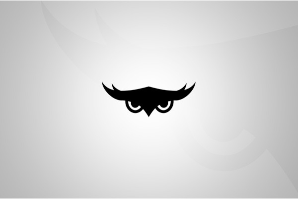 owlmedia   logo by 8creo d4yhmnd 35 Owl Logo designs For Your Inspiration
