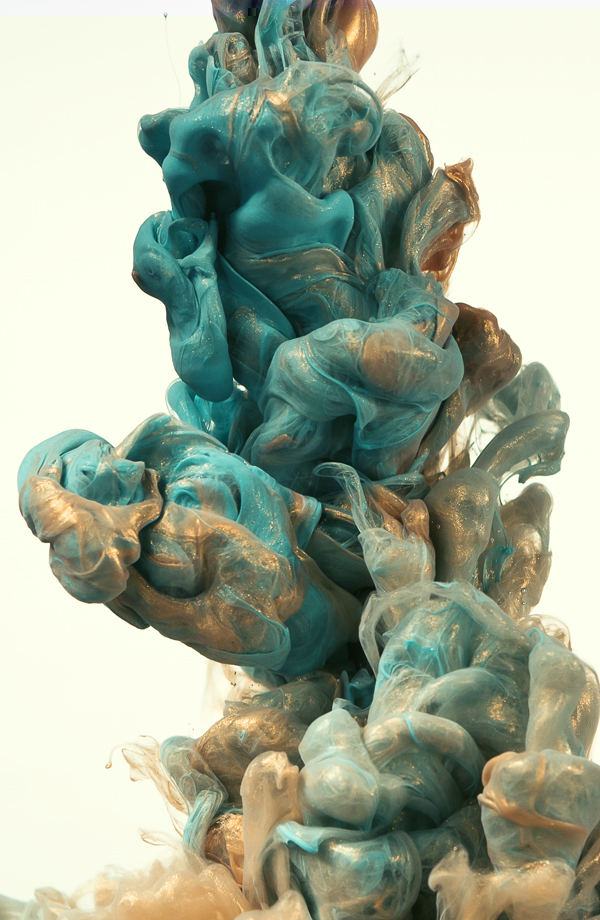 High Speed Photographs Of Ink In Water Alberto Seveso