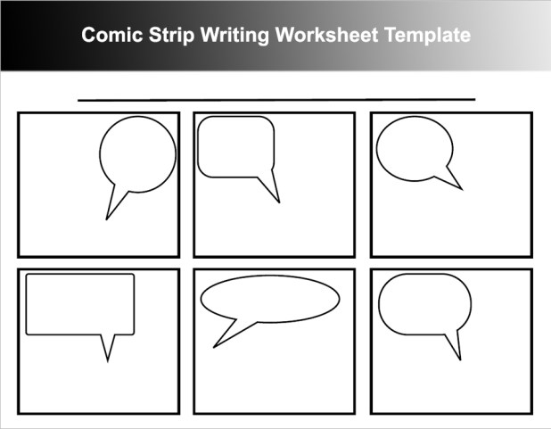 Create A Cartoon Strip Worksheet – Comic Strip Worksheet