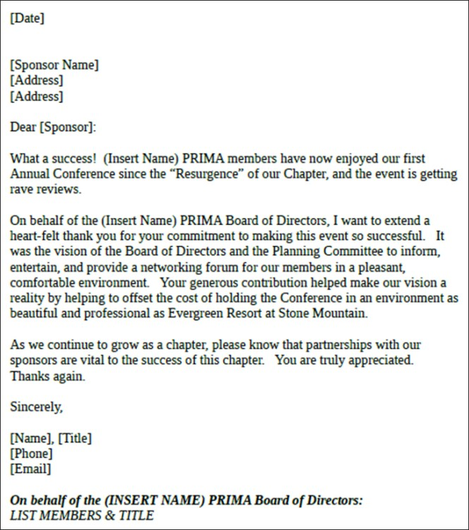 Sponsor thank you letter pertamini sponsor thank you letter expocarfo