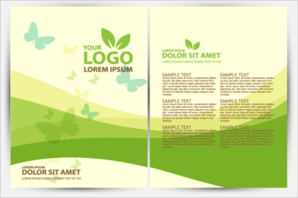 Tri Brochure Fold Printable Free