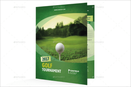 Excel Project Timeline Template Free Golf Brochure Templates - Golf brochure template