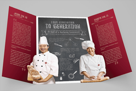 18  Job Brochure Templates Free Samples  Examples Designs Human Capital Recruitment Brochure