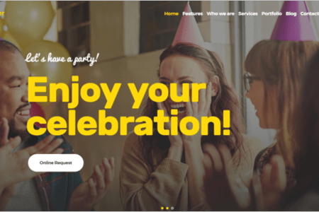 Free Website Templates For Event Management Company Gallery ...