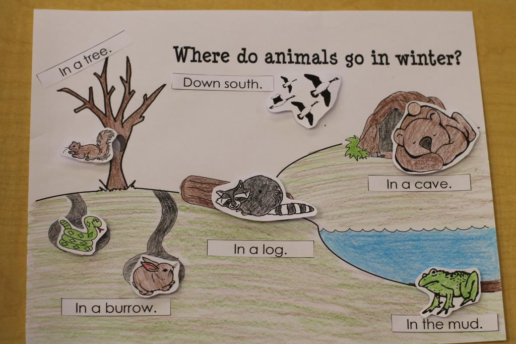 Preschool Printables Arctic Animals Craft