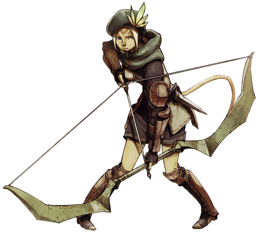 Mithra Ranger Characters Amp Art Final Fantasy XI