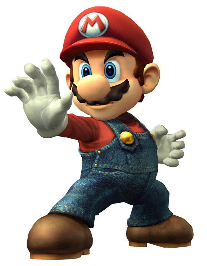 Mario Art Super Smash Bros Brawl Art Gallery