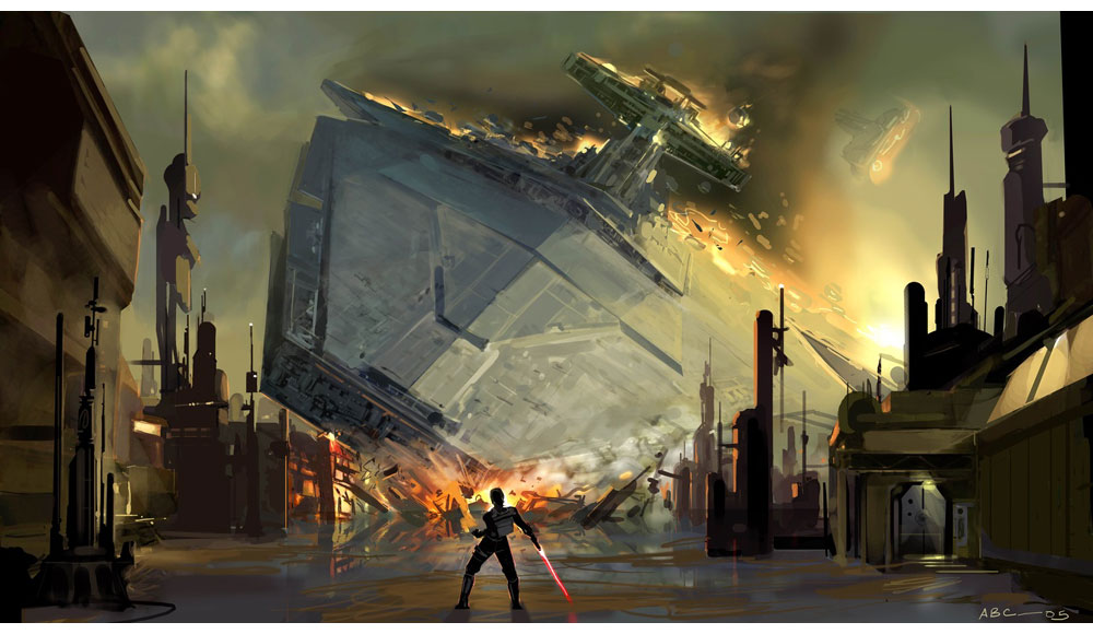 Crashed Star Destroyer Characters Amp Art Star Wars The