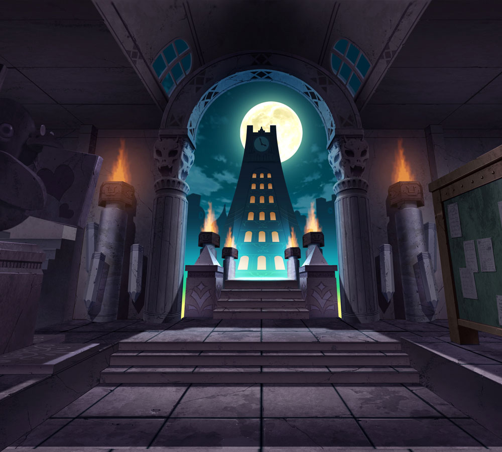 Background Illustration Disgaea 3 Absence Of Justice