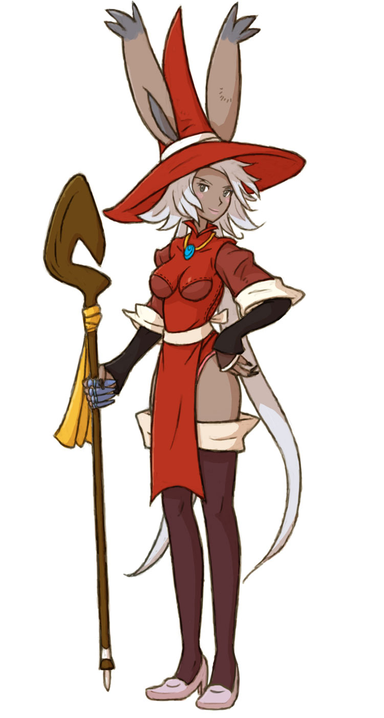 Viera Red Mage Characters Amp Art Final Fantasy Tactics A2 Grimoire Of The Rift
