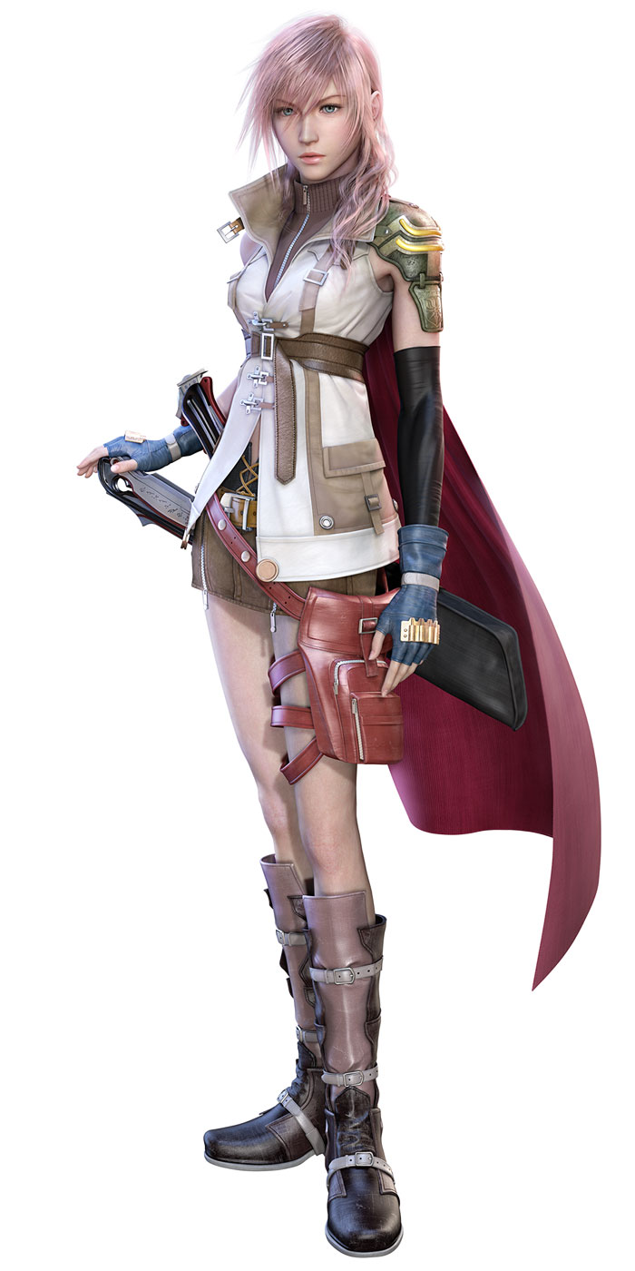 Lightning Art Final Fantasy Xiii Art Gallery