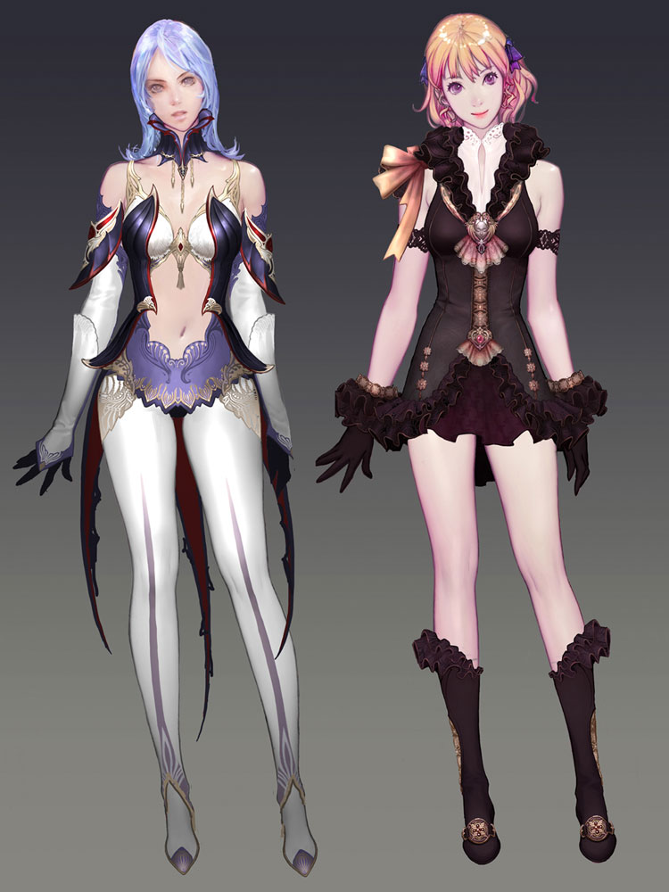 Costume Designs Characters Amp Art Aion