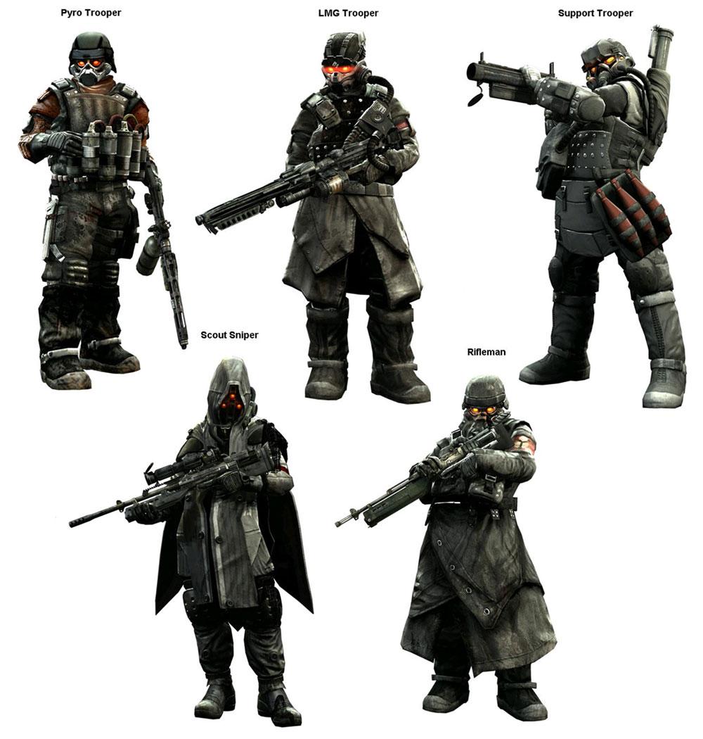 Killzone Helghast Sniper