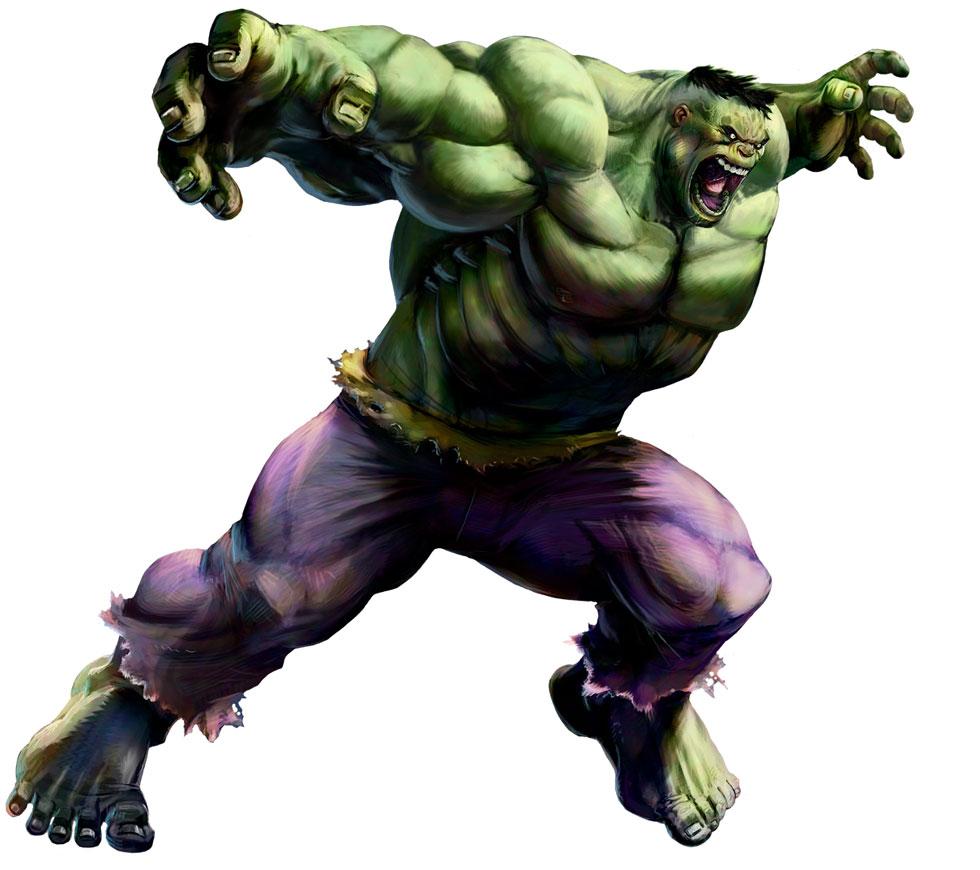 Hulk Art Marvel Vs Capcom 2 2009 Art Gallery
