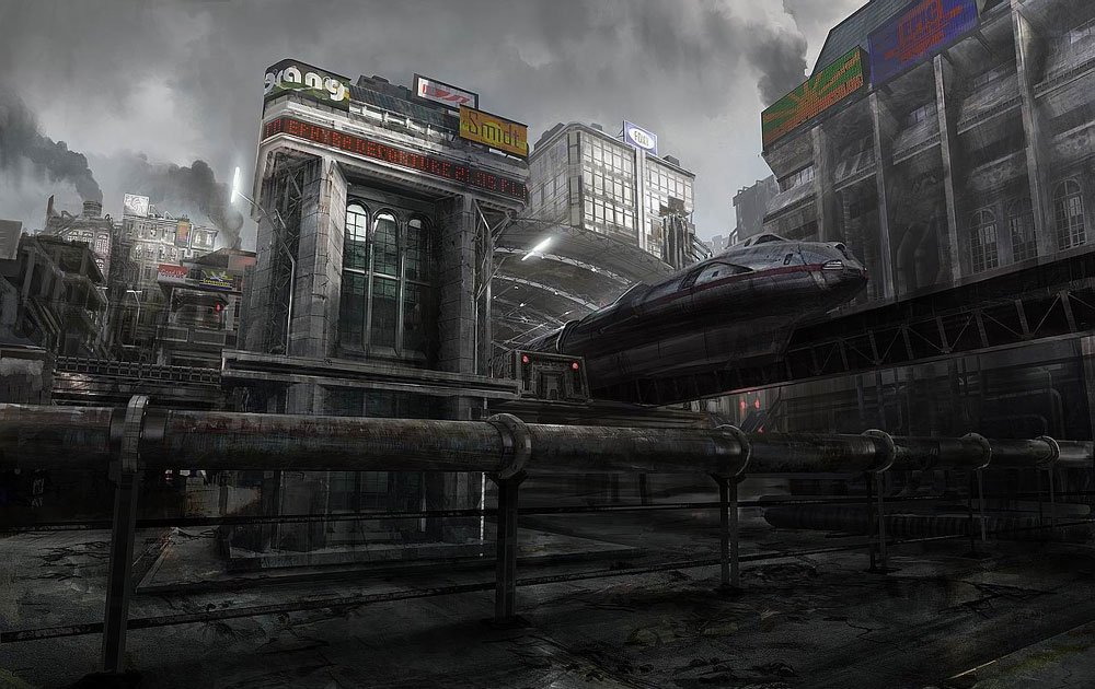 Train Station Characters Amp Art Gears Of War