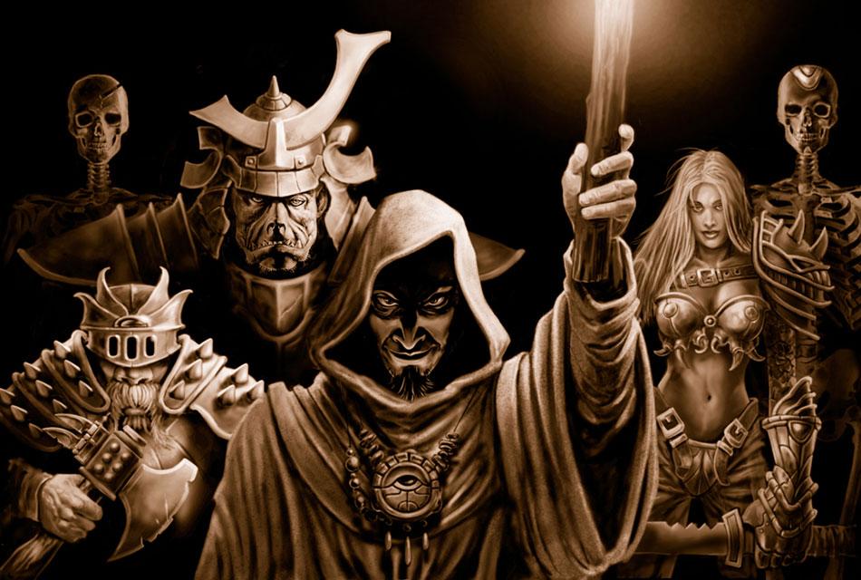 Promotional Art Neverwinter Nights Art Gallery