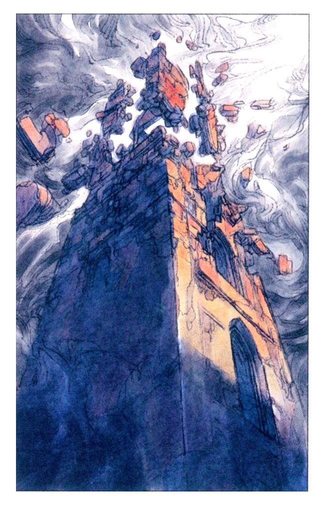 Tarot Card XVI - The Tower