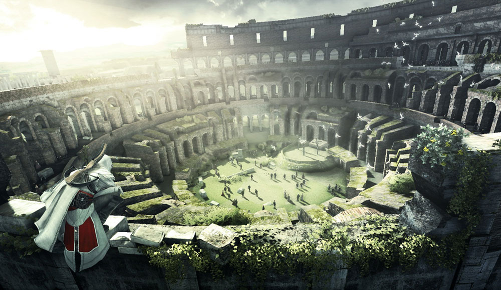 Colosseum Art Assassin S Creed Brotherhood Art Gallery
