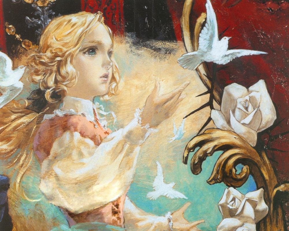 Maria Illustration Castlevania Dracula X Chronicles Art