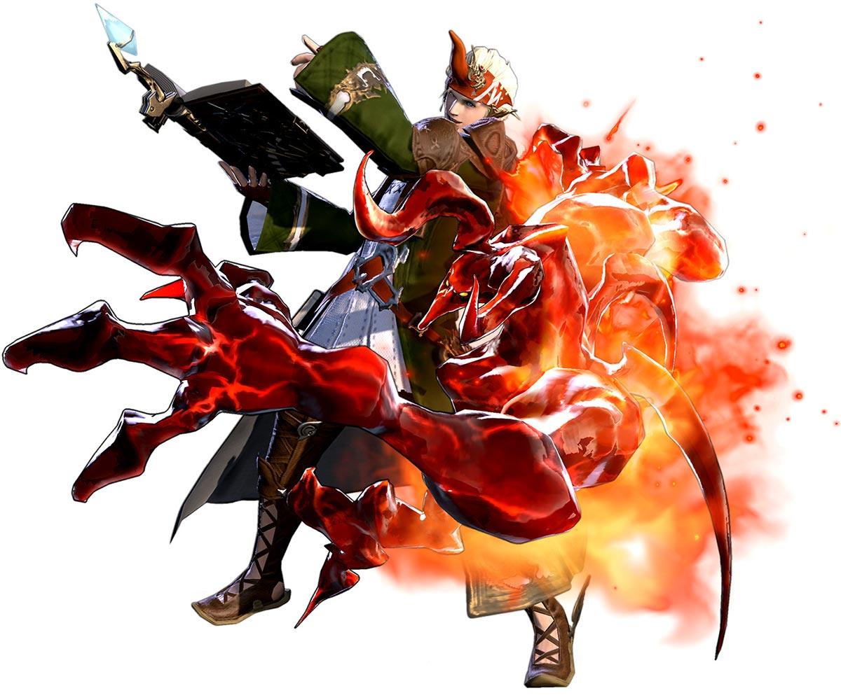 Hyur Summoner Characters Amp Art Final Fantasy XIV A