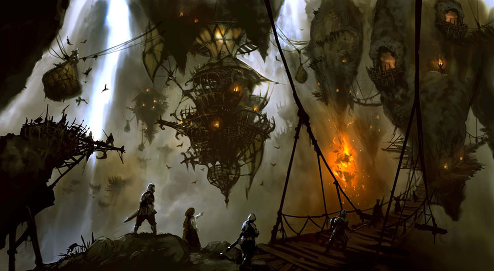 Ixal Floating Bridges Characters Amp Art Final Fantasy XIV A Realm Reborn