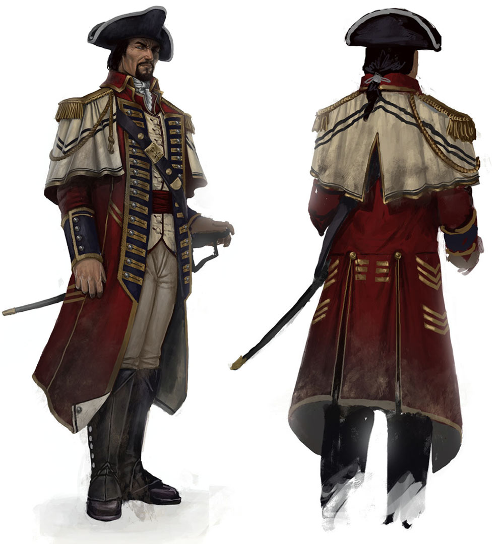 Matthew Davenport The Commander Characters Amp Art