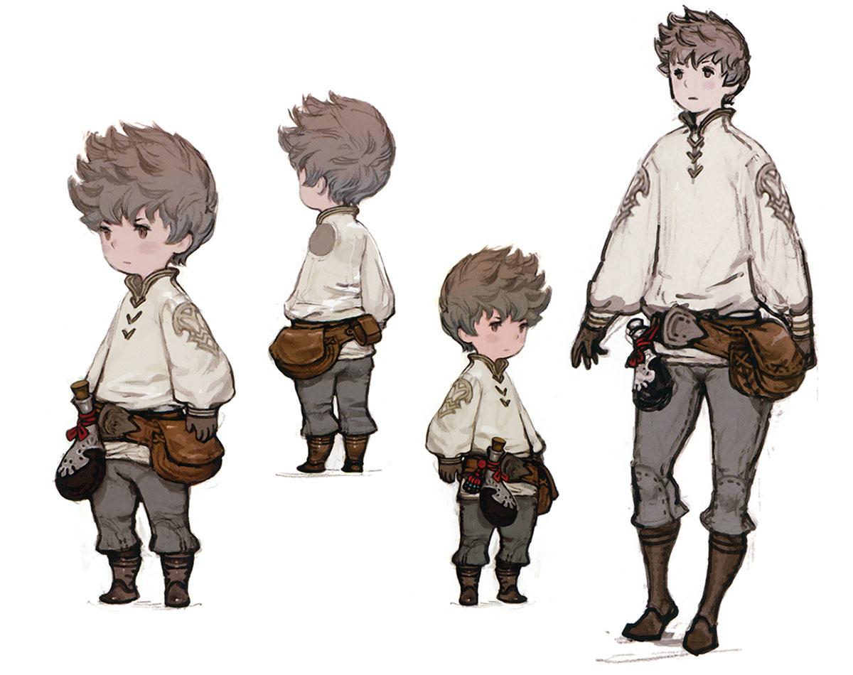 Tiz Concepts Characters Amp Art Bravely Default