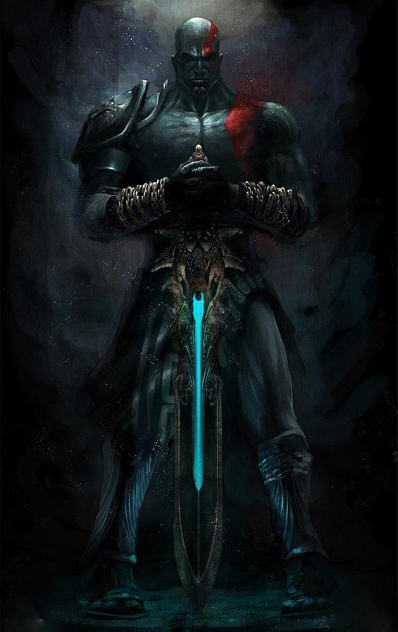 Kratos Amp Blade Of Olympus Art God Of War Iii Art Gallery