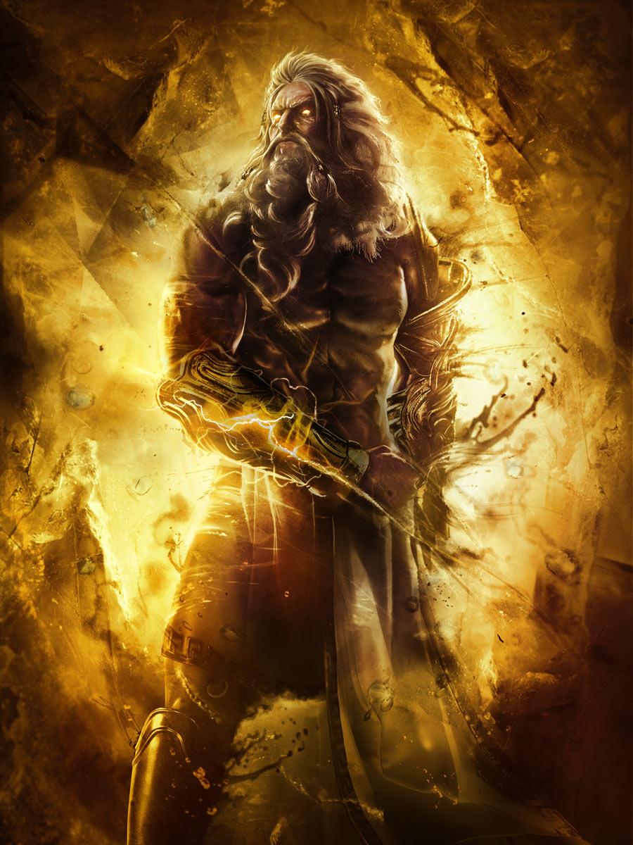 Zeus Art God Of War Ascension Art Gallery