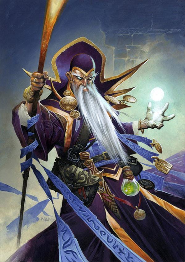 Archmage Antonidas Art Hearthstone Heroes Of Warcraft