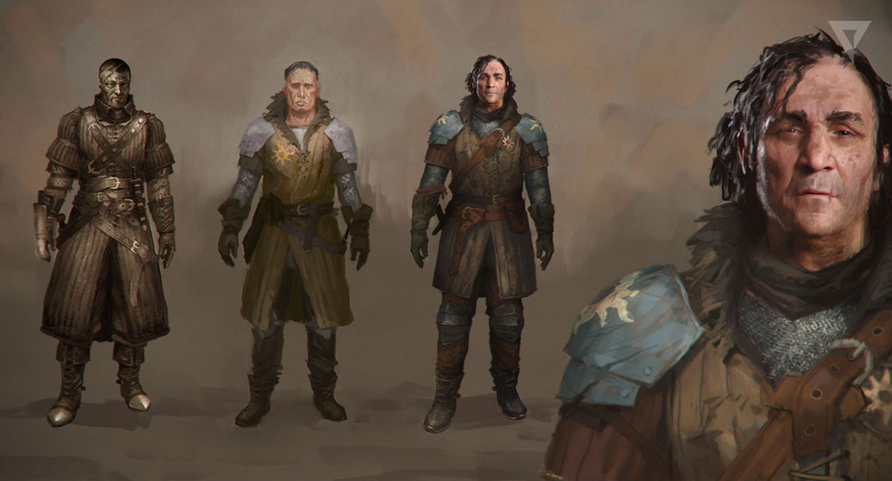 Trailer Character Concept Characters Amp Art The Witcher