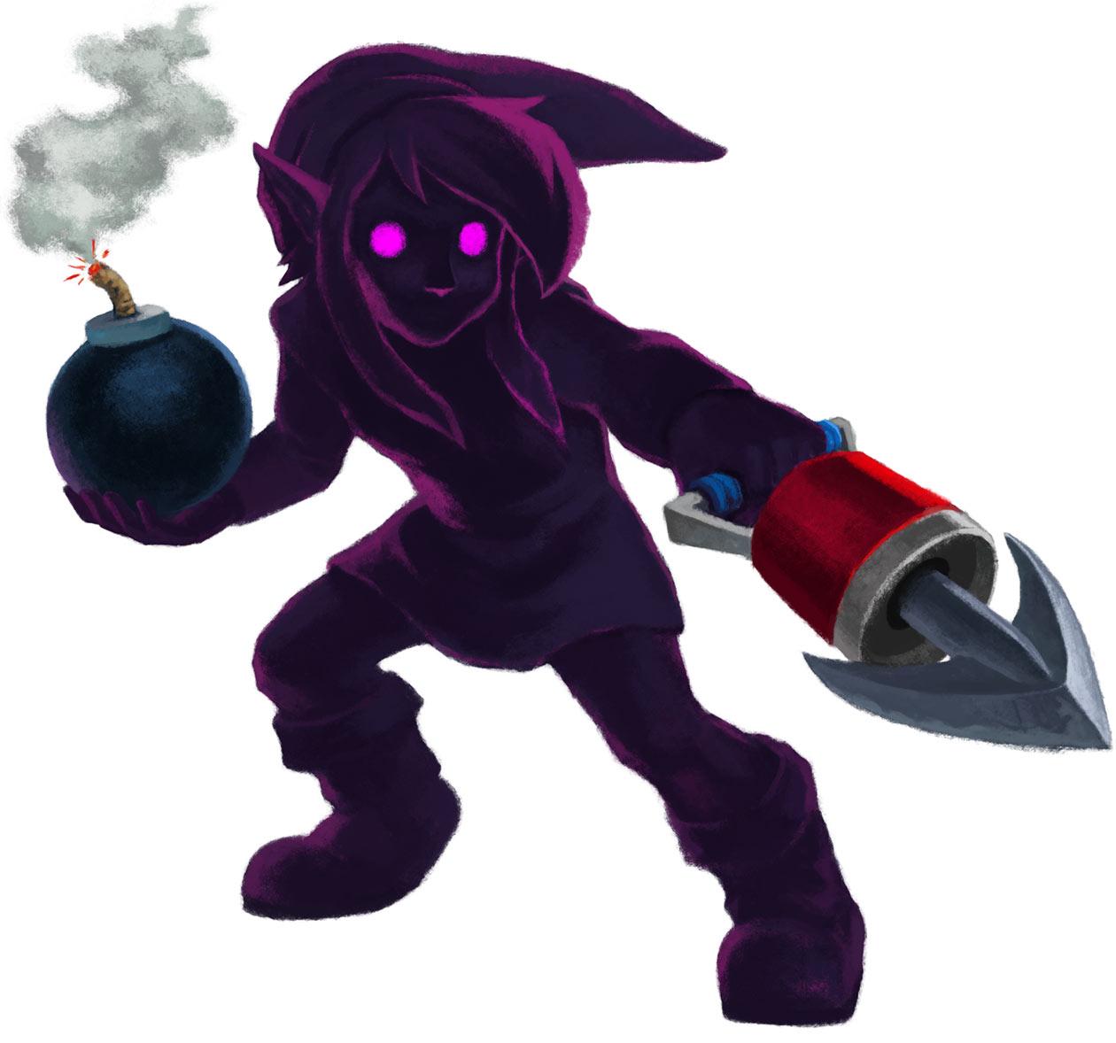 Dark Link Characters Art The Legend Of Zelda A Link
