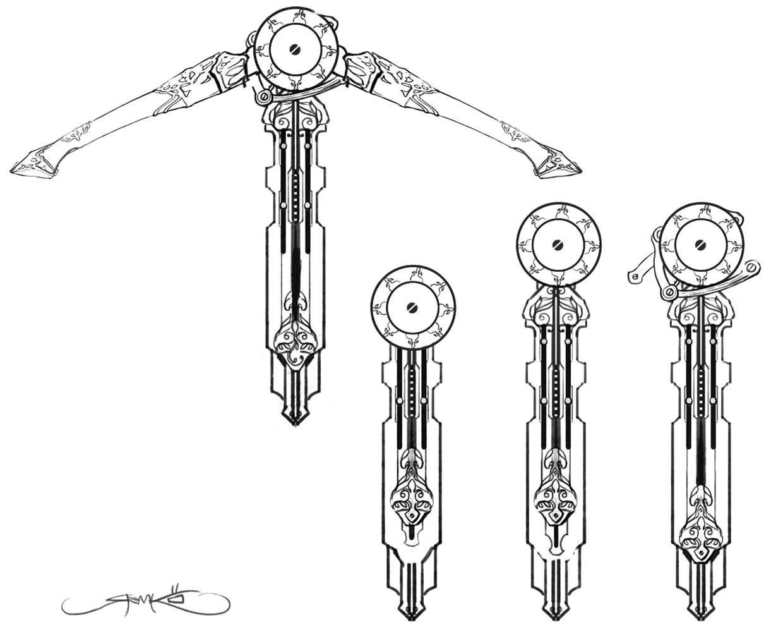 Hidden Crossbow Design