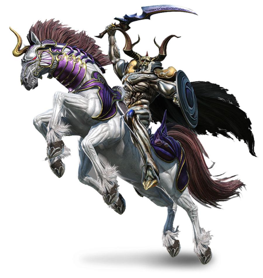 Odin Characters Amp Art Dissidia Final Fantasy NT