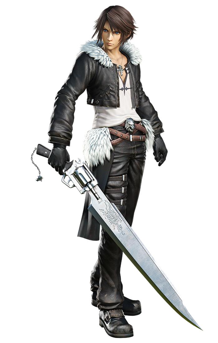 Squall Leonhart Characters Amp Art Dissidia Final Fantasy NT