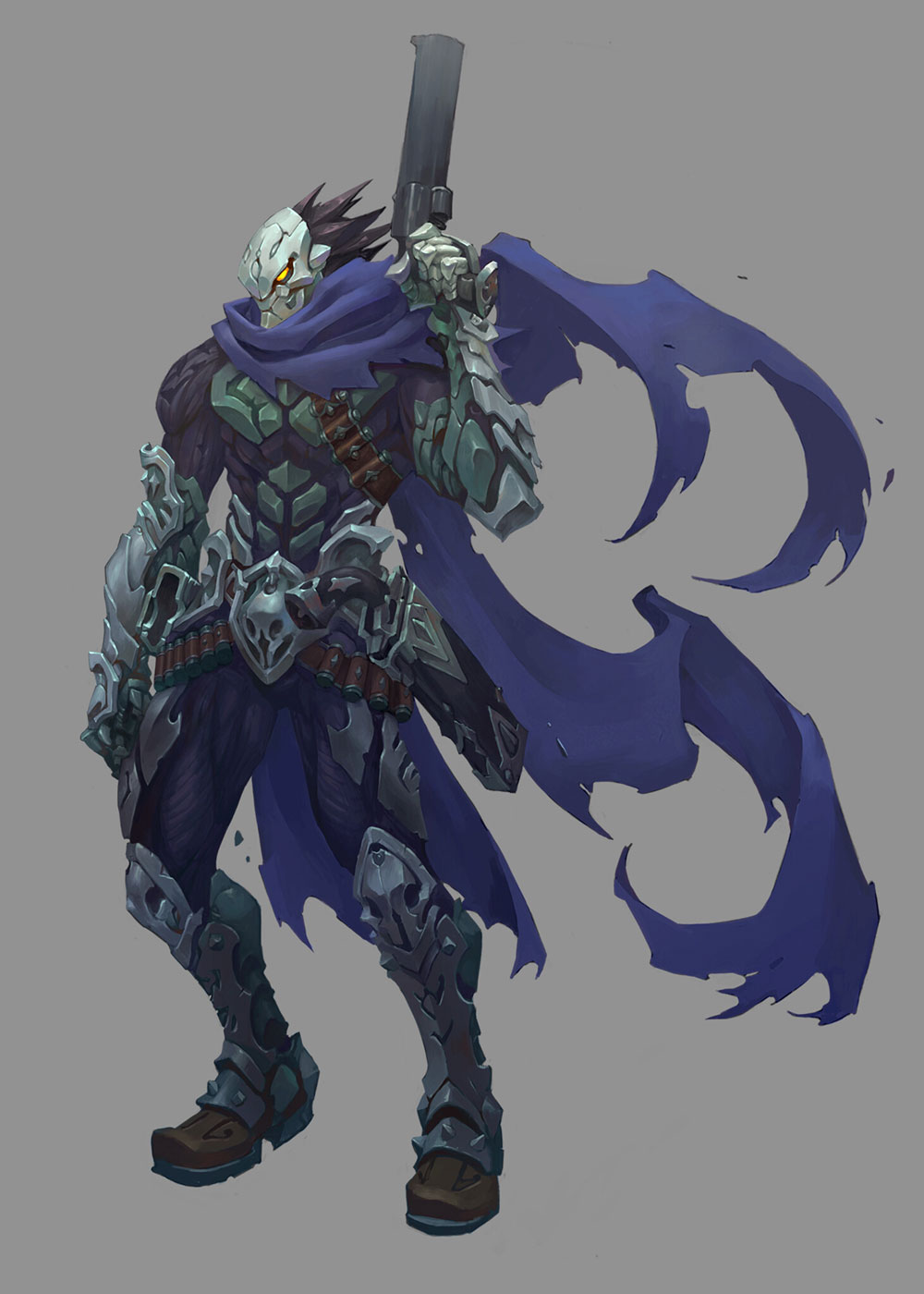Strife Art Darksiders Genesis Art Gallery